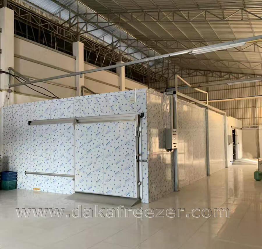 柬埔寨冷库工程