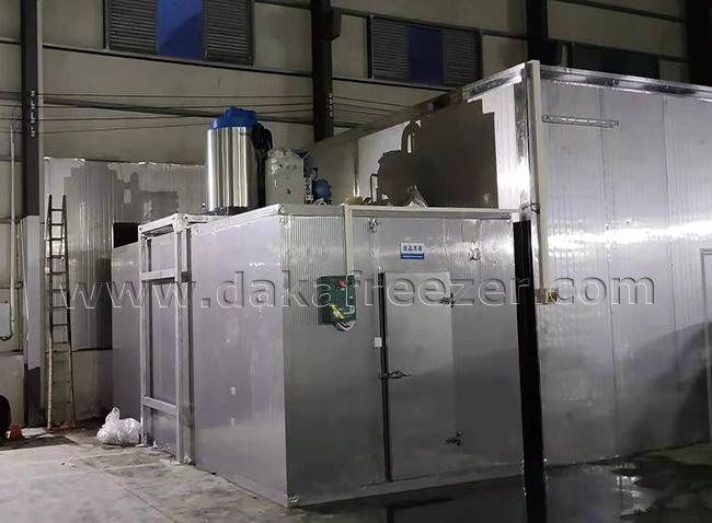 潮州某食品加工厂5吨片冰机案例