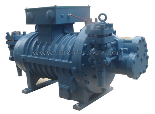 莱富康60匹螺杆低温压缩机 SW3L6000-L4
